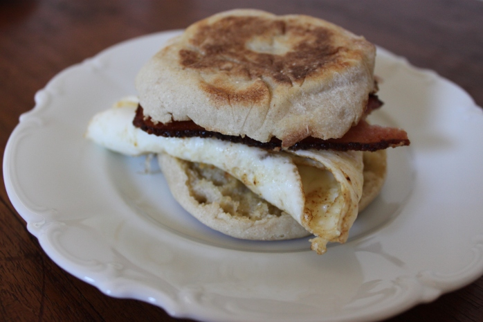 Salty's Fried Egg Sandwich