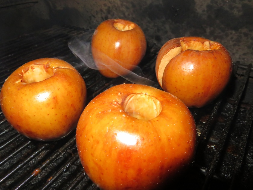 smoked apples
